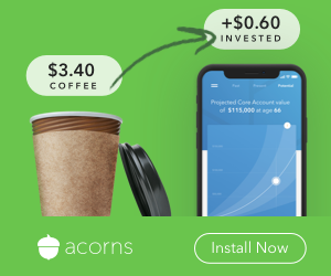 Acorns - invest, save and spend smarter