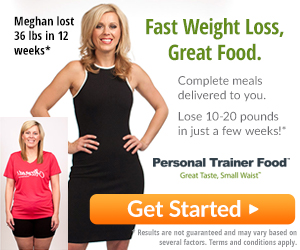 Personal Trainer Food banner