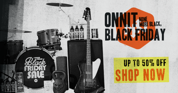 Onnit's None More Black, Black Friday Sale Has Begun.