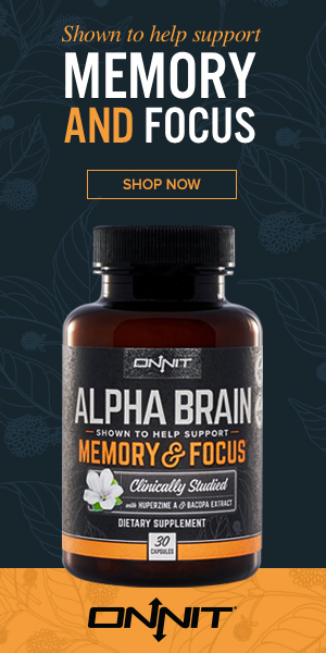 Alpha BRAIN: Clinically studied to help healthy individuals support memory, focus, and processing speed.