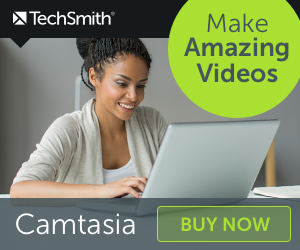 TechSmith Student Camtasia, making amazing videos