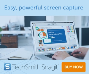 SnagIT 2020, easy, powerful screen capture