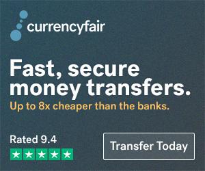 5 transferts d'argent à l'étranger  Gratuits avec CurrencyFair
