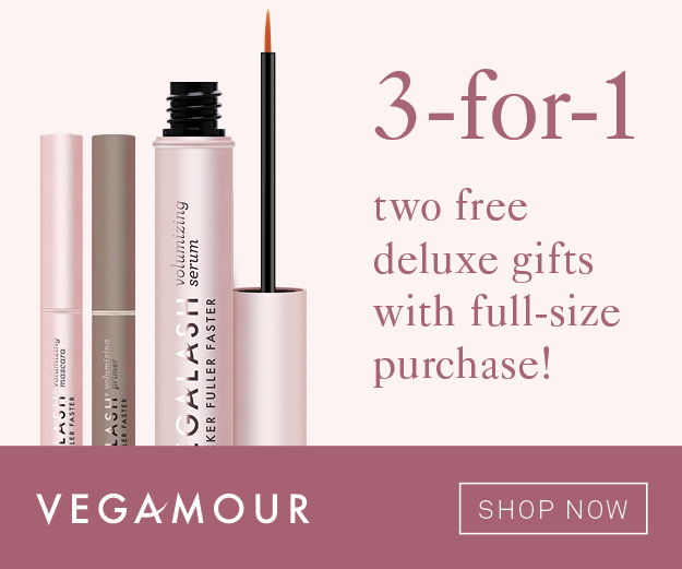 VegaLash promo code GLAM25 for 25% OFF any order + Gift with Purchase