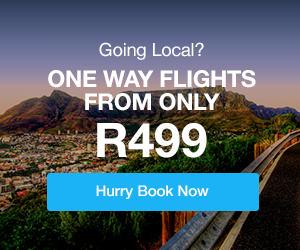 Travelstart Domestic Flights South Africa