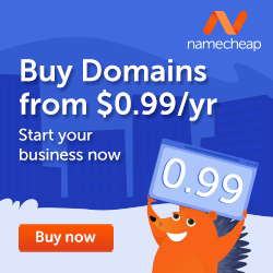 namecheap domain ads