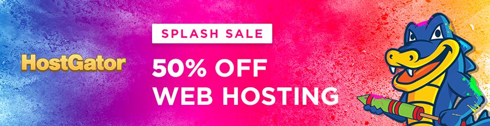 HostGator Splash Sale sale