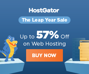 Hostgator Leap Year Sale - Up to 55% off Coupon and Promo Code