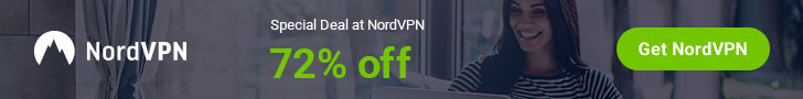NordVPN Special Deal  72% Off