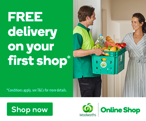 Free delivery First shop 300x250px