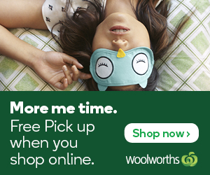 New Woolworths Pick Up Offer 300x250