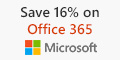 Save 16% on Office 365 Yearly Subscription