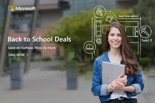 Back to School Deals_Save on Surface, Xbox and more