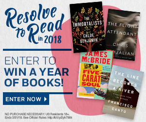Resolve to Read sweeps for a chance to win a year of books from Penguin Random House