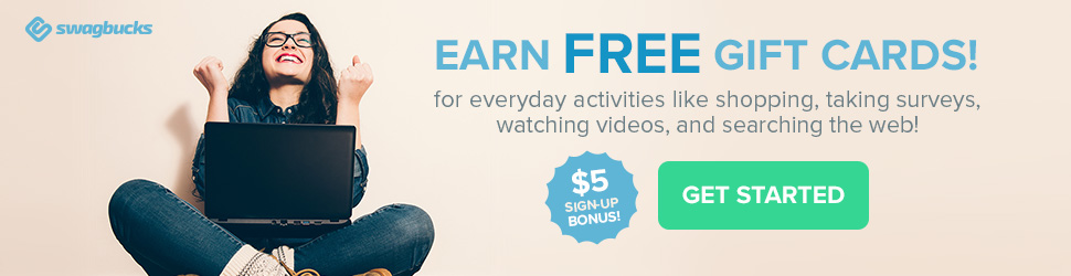 Earn Free Gift Cards, Give Me SwagBucks!