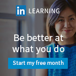 Get 1 free month of LinkedIN Learning
