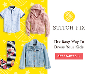 Stitch Fix kids - give it a try today!
