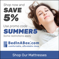 5% off any Serenity, Symphony and Tranquillium mattress with Code: SUMMER5