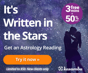 3 Free Minutes + 50% Off Astrology Chat!