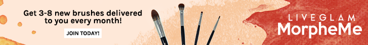 LiveGlam MorpheMe Monthly Brush Club October 2018 Spoilers