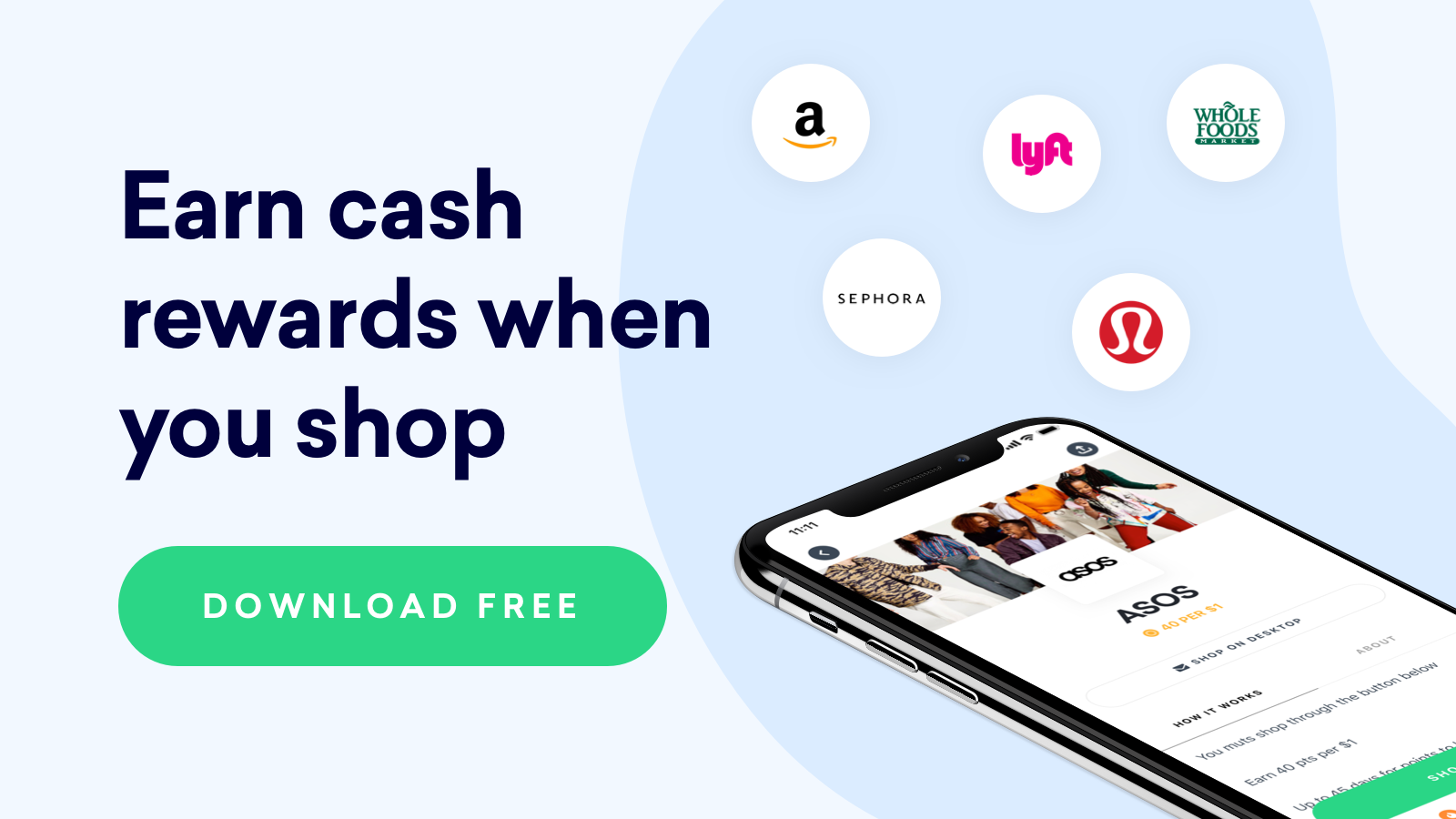 Earn cash rewards with drop - easy $5
