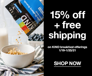 KIND breakfast bars discount