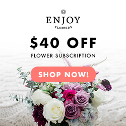 Enjoy Flowers banner