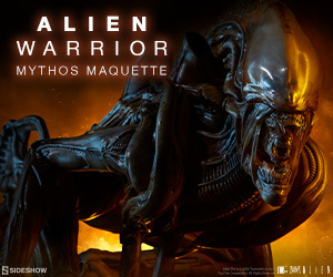 Alien Warrior - Mythos Alien Maquette