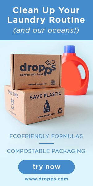 Keep Our Oceans Clean, Dropps laundry detergent