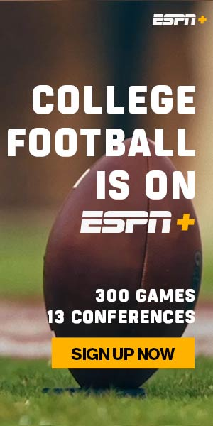 Sign up for ESPN+ and Stream College Football!