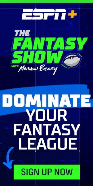 Sign up for ESPN+ and dominateyour Fantasy League