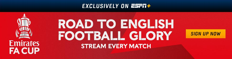 watch stream fa cup english soccer ESPN tv online usa