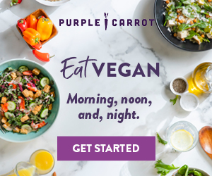 Purple Carrot Vegan Meal Kit Subscription Box