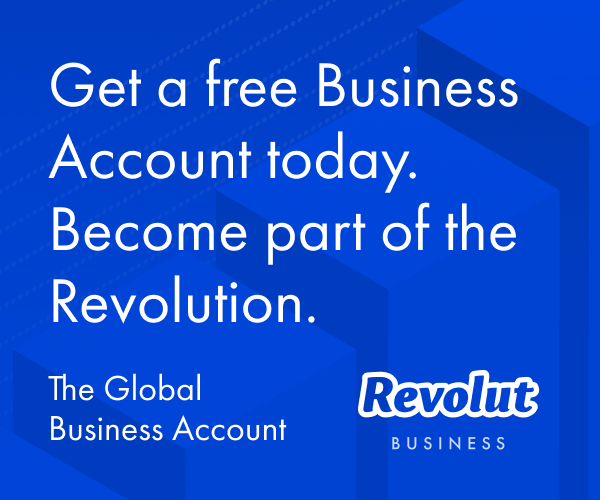 REVOLUT debit card and Business Account